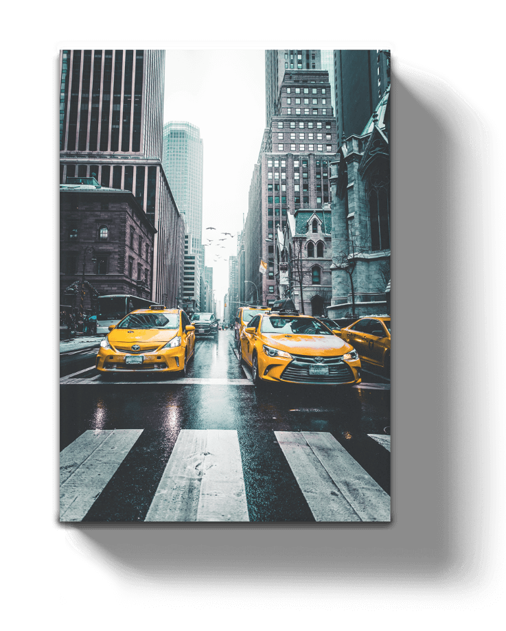 Floating-Canvas_Yellow-Taxi