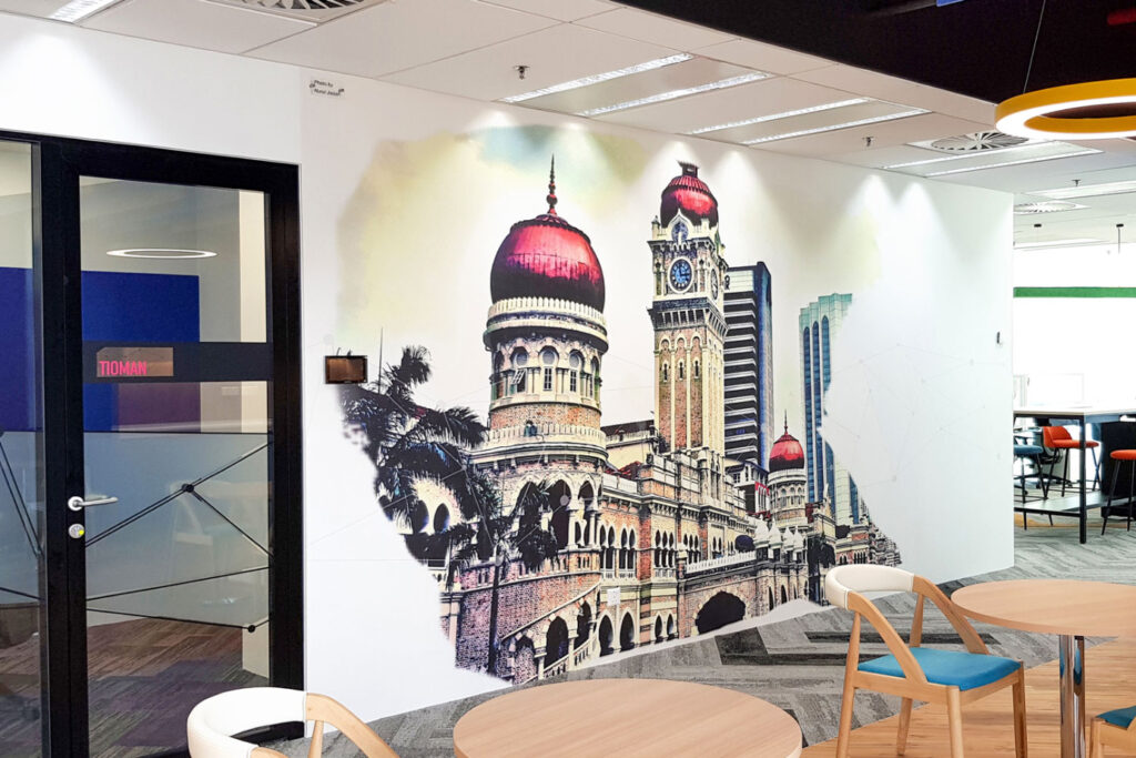 Malaysia Old High Court Heritage building (Sultan Abdul Samad building) Wallpaper in a Corporate-Office